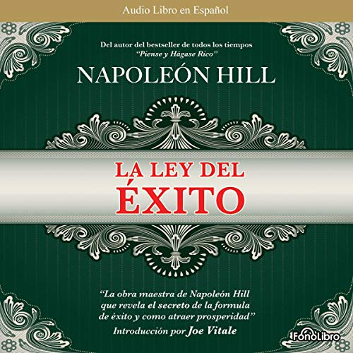 La Ley del Exito [The Law of Success]                   By:                                                                                                                                 Napoleon Hill                               Narrated by:                                                                                                                                 Jose Duarte                      Length: 4 hrs and 5 mins     89 ratings     Overall 4.5