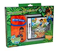 Diego Great Dinosaur Rescue NDS Game and Sakar NDS Case Bundle (輸入版)