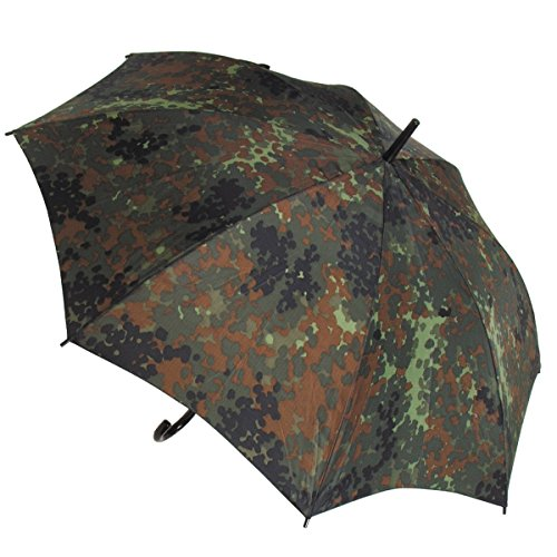BKL1® Regenschirm flecktarn Durchmesser 1,05 m Outdoor wandern Jagd 1232