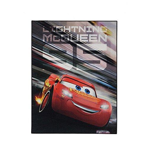 Disney Cars Teppich 95cm x 125cm für das Kinderzimmer - Kinderteppich MC Queen 95 mit Lightning Mc Queen