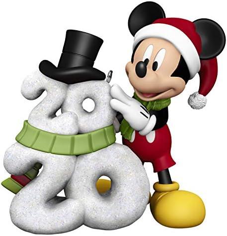 Hallmark Keepsake Christmas Ornament 2020 Year Dated Disney Mickey Mouse A Year of Disney Magic product image