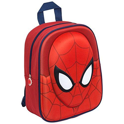 Spider-Man Marvel - Uomo Ragno Zaino 3D Asilo Scuola