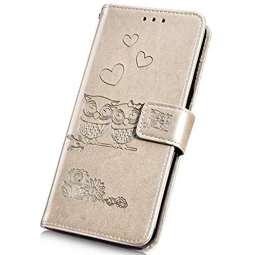 Surakey - Carcasa para Samsung Galaxy J5 2017 (piel sintética, diseño de...