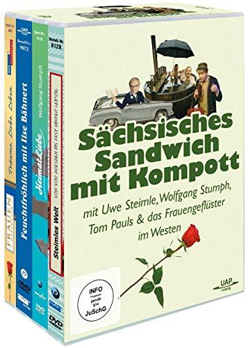 Sächsisches Sandwich mit Kompott - mit U. Steimle, W. Stumph, T. Pauls... & Frauengeflüster im Westen [4er Box]