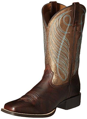 ARIAT Damen Cowboy-Stiefel, Yukon Braun/Bronze, 39 EU