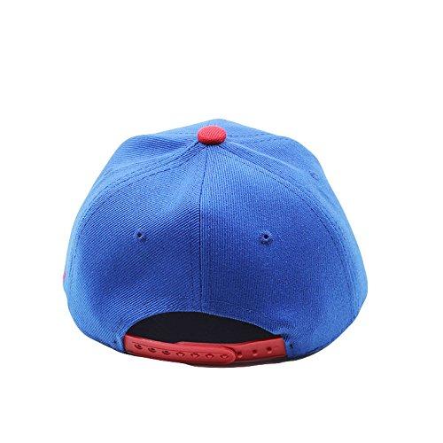 Product Image 3: Diluma Kids Spider Man Cartoon Falt Hat Snapback Baseball Cap (Blue)