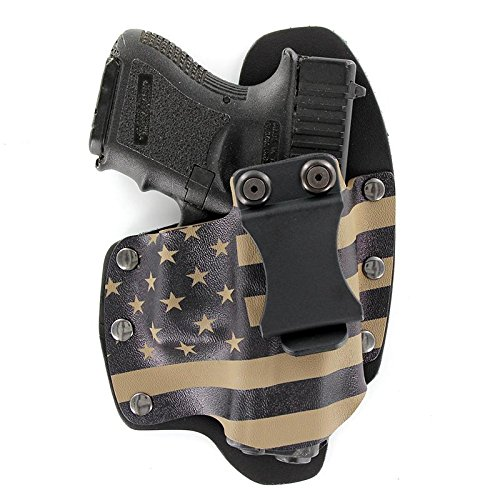 FDE - Flat Dark Earth USA IWB Hybrid Concealed Carry Holster (Right-Hand, for CZ 75 P07/P09)