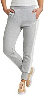 PUMA Women's French Terry Fleece Jogger Pants