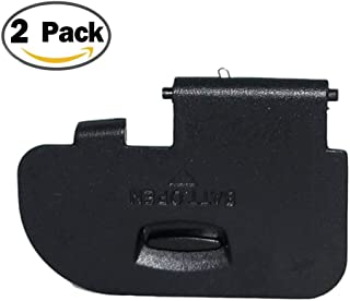 (2Pack) Shenligod Battery Door Cover Lid Cap Replacement Repair Part Compatible with for Canon 5D Mark III DSLR Digital Camera