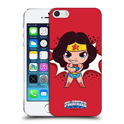 Head Case Designs Ufficiale Super Friends DC Comics Wonder Woman Bambini 1 Cover Dura per Parte Posteriore Compatibile con Apple iPhone 5 / iPhone 5s / iPhone SE 2016