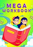 MEGA WORKBOOK: Preschool Learning Book with Number Tracing and Matching Activities for 2