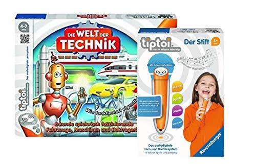 Ravensburger tiptoi 00837 Die Welt Der Technik tiptoi® 008018 Der Stift - neu mit Aufnahmefunktion