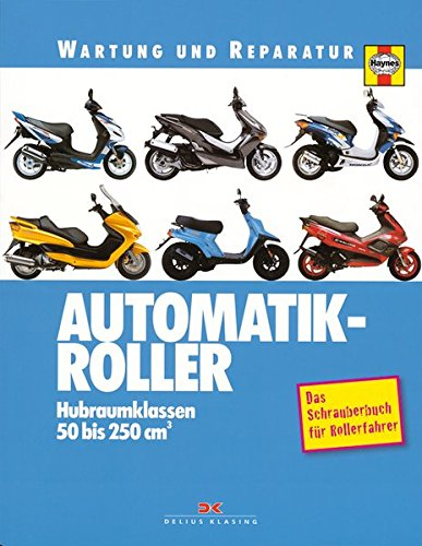 Automatik-Roller: Hubraumklassen 50 bis 250 ccm