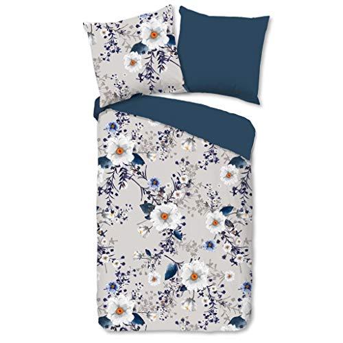 Good Morning! Renforcé Bettwäsche 2 teilig Bettbezug 135 x 200 cm Kopfkissenbezug 80 x 80 cm Denise 2608.03.08 Grey