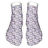 Adecuado para todas las estaciones y uso diario en el hogar y la oficina, bonito patrón continuo de pétalos y brotes de flores exóticos, impresión doble