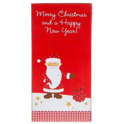 Weihnachten Schweizer Schokolade Grüße 100g–Merry Christmas And A Happy New Year