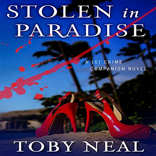Stolen in Paradise audiobook cover art