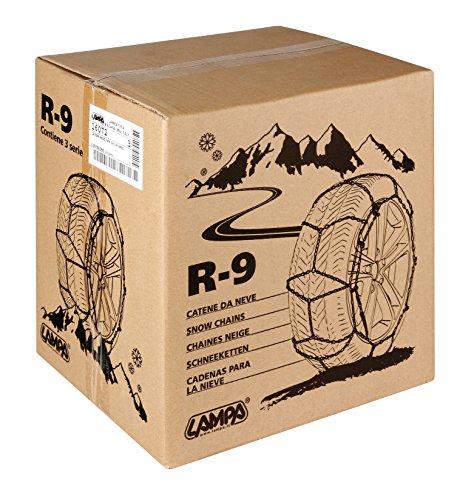 SNOWDRIVE Lampa 16082 Catene Neve 9 mm, 2 Pezzi