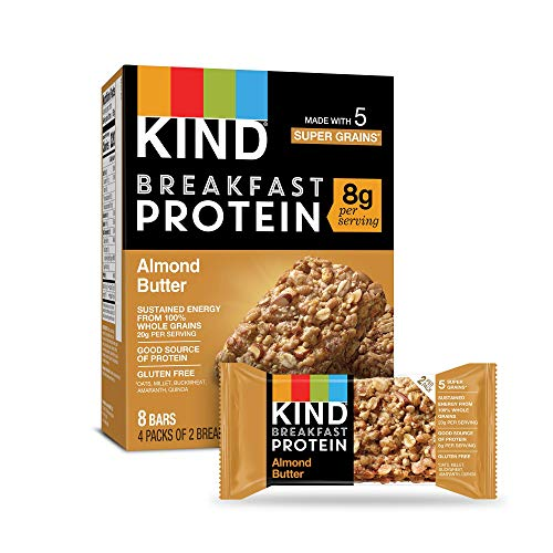 KIND Breakfast Protein Bars Almond Butter Gluten Free