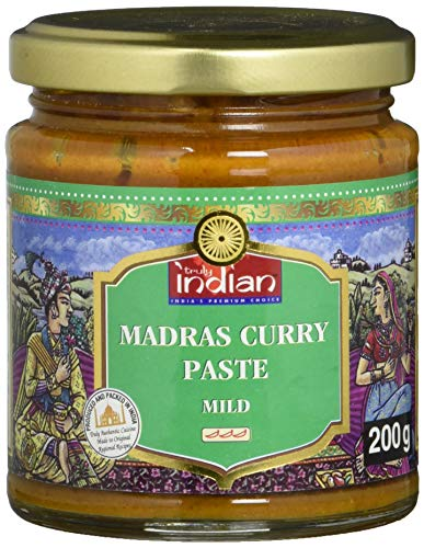 TRULY INDIAN Currypaste, Madras Mild, 200g