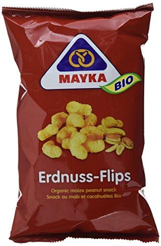 Mayka Bio Erdnuss-Flips, 12er Pack (12 x 75 g)