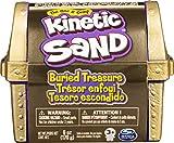 Kinetic Sand Juego de Tesoro enterrado con 170 g de Arena cinética y Herramienta Oculta Sorpresa (el Estilo Puede Variar)