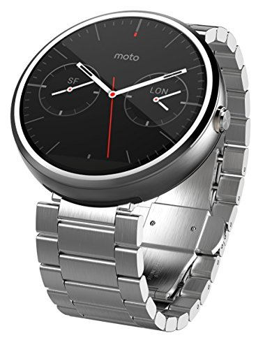 Motorola Moto 360 - Light Metal, 23mm, Smart Watch 並行輸入品