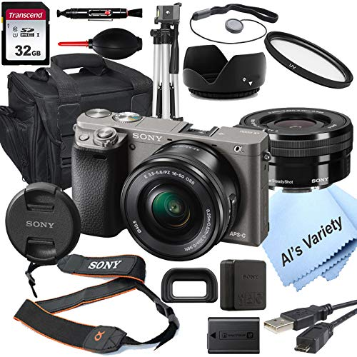 Sony Alpha a6000 (Graphite) Mirrorless Digital...