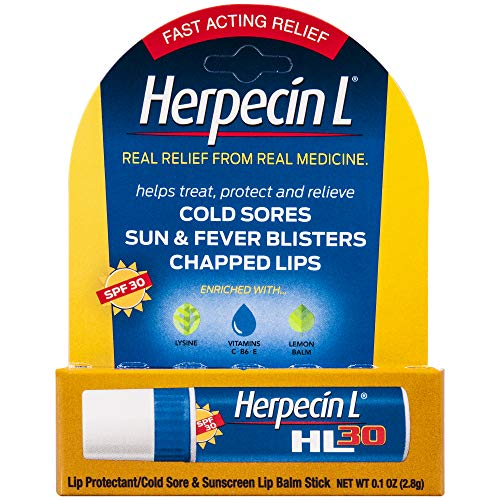 Herpecin L Lip Protectant SPF 30 0.10 oz ( Pack of 3)