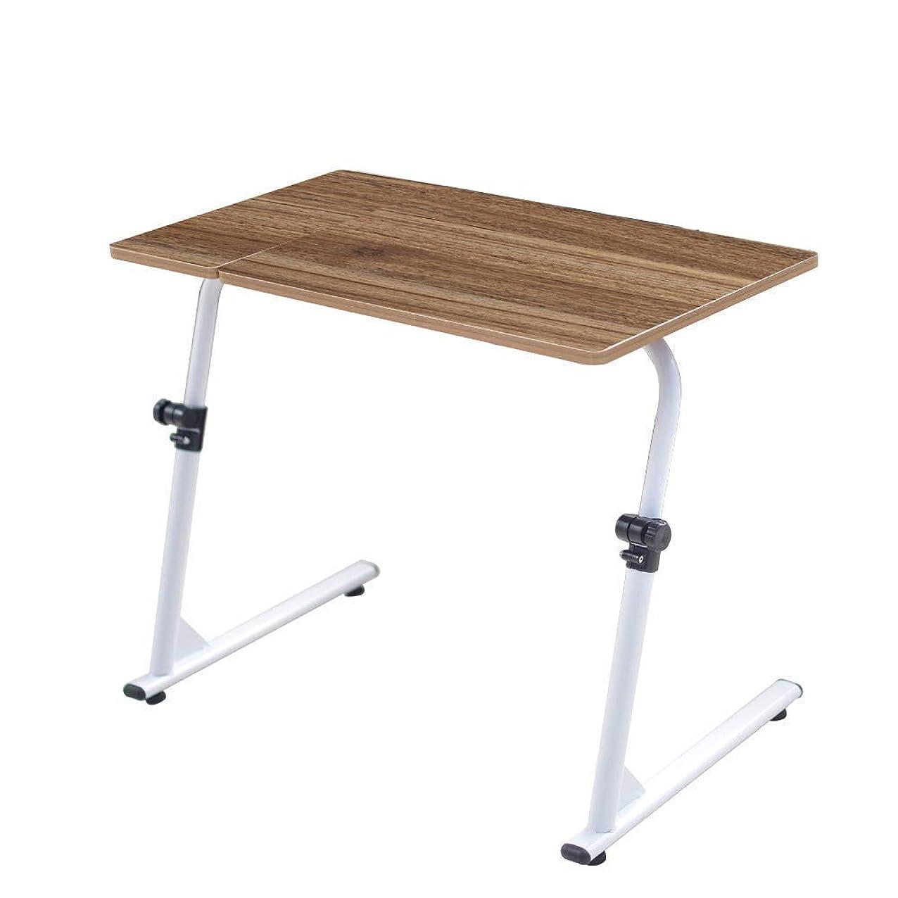 フィッティング過激派フィッティングSoges Soges 昇降式 テーブル 角度?高さ無段階調節可能 折りたたみ式 サイドテーブル コ字型 省スペース 組立簡単 滑り止め付き