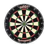 ONE80 Dart Gladiator 3 Plus Bristle Dart Board - Bersaglio per freccette con rotafix