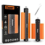 Contour Gauge with Lock, Contour Gauge Profile Tool, Contour Gauge Duplicator 10'' and 6'', Measure Copy Tool(10 Inch+6 Inch)