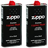 Zippo Premium Lighter Fluid | 12-Ounces | 2-Pack