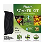 Flexon WS100KITCN 20-Piece Soaker Hose Kit,...
