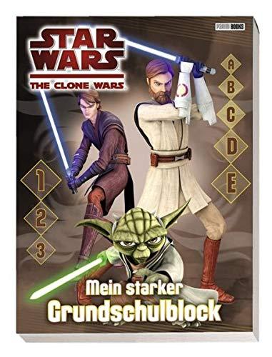 Star Wars - The Clone Wars: Mein starker Grundschulblock
