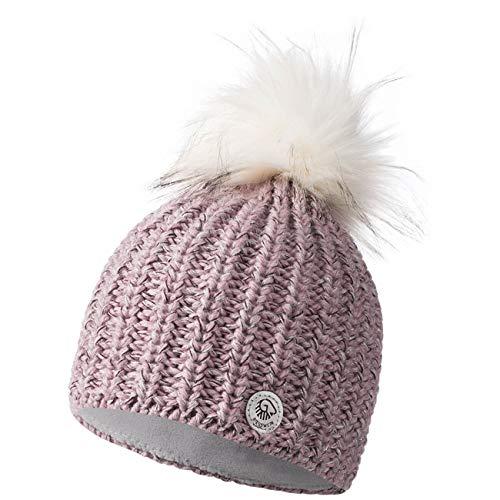 GIESSWEIN Damen Ahornkopf Strickmütze, Pink (Candy 366), One Size