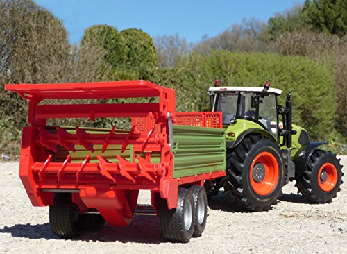 RC Auto kaufen Traktor Bild 2: RC Traktor CLAAS Axion 870 Anhänger in XL Länge 78cm