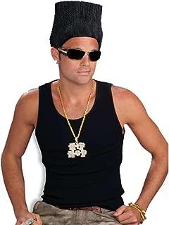 Men's Hip Hop High Top Fade Costume Wig