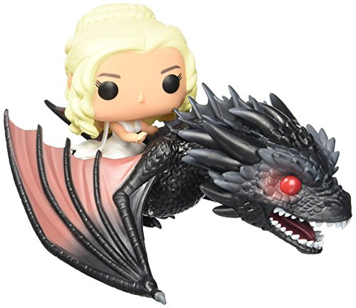 Funko - POP! Sticker Game of Thrones Collection - Figure Drogon & Daenerys (7235)