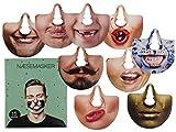 Bada Bing 15er Set Nasenmasken Maske Gesichtsmaske Party Foto Verkleidung Spiel Spaß Gag Lustig Feier Scherz 21