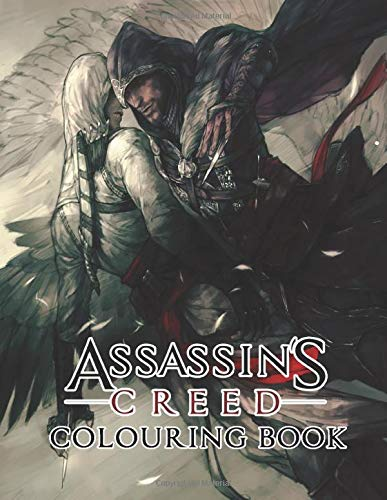 Assassin's Creed Colouring Book: Beautiful illustrations of Assassin's Creed characters and iconic scene