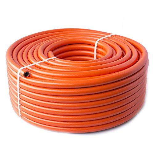 Quantum - Tubo de Calor de butano y propano (8 mm, 10 m), Color Naranja
