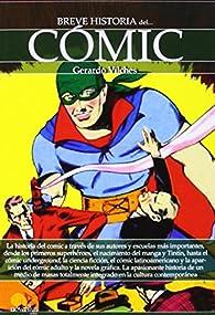 Breve historia del cómic par Gerardo Vilches Fuentes