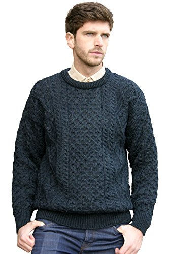 Styling a Black Fisherman Sweater Men's