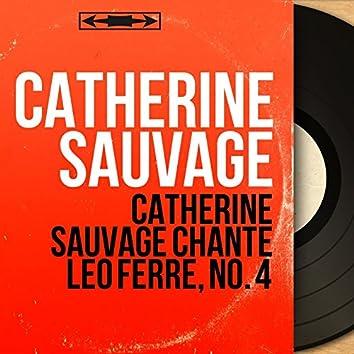 Catherine Sauvage chante Léo Ferré, no. 4 (feat. Michel Legrand et son orchestre) [Mono Version]