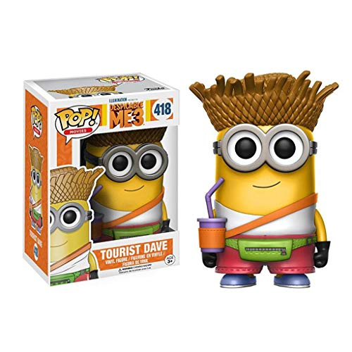 Luckly77 Tourist Dave Figure Despicable Me 3