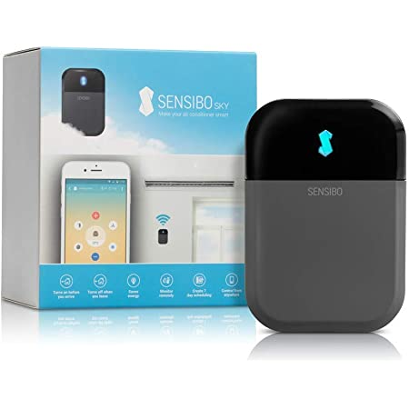Sensibo Sky Contrôleur de climatisation Wi-Fi compatible avec iOS et Android avec Amazon Alexa et Google Home