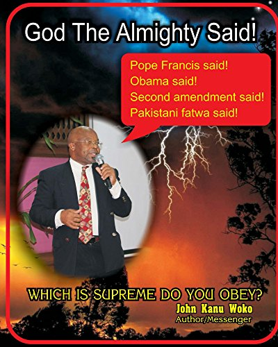 God The Almighty Said (English Edition)