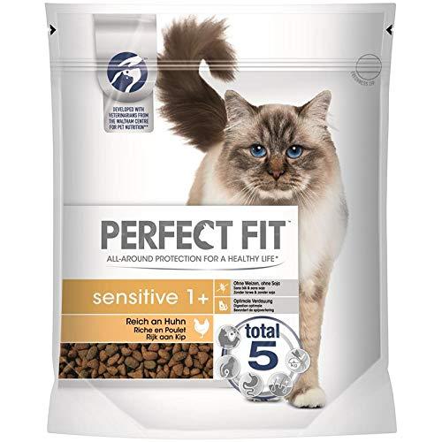 PERFECT FIT Cat Sensitive 1+ reich an Huhn | 750g Katzenfutter