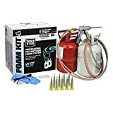 DAP 7565002200 Touch 'n Seal 200 BF Low GWP 1.75 PCF FR ICC Closed Cell Spray Foam Insulation Kit with Pre-Connected Hoses